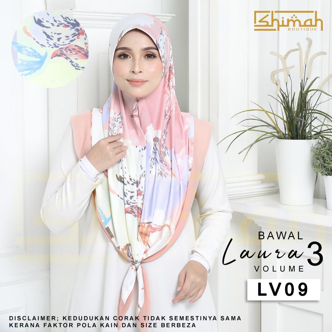 Bawal Laura Vol. 3 (LV09) Bidang 50