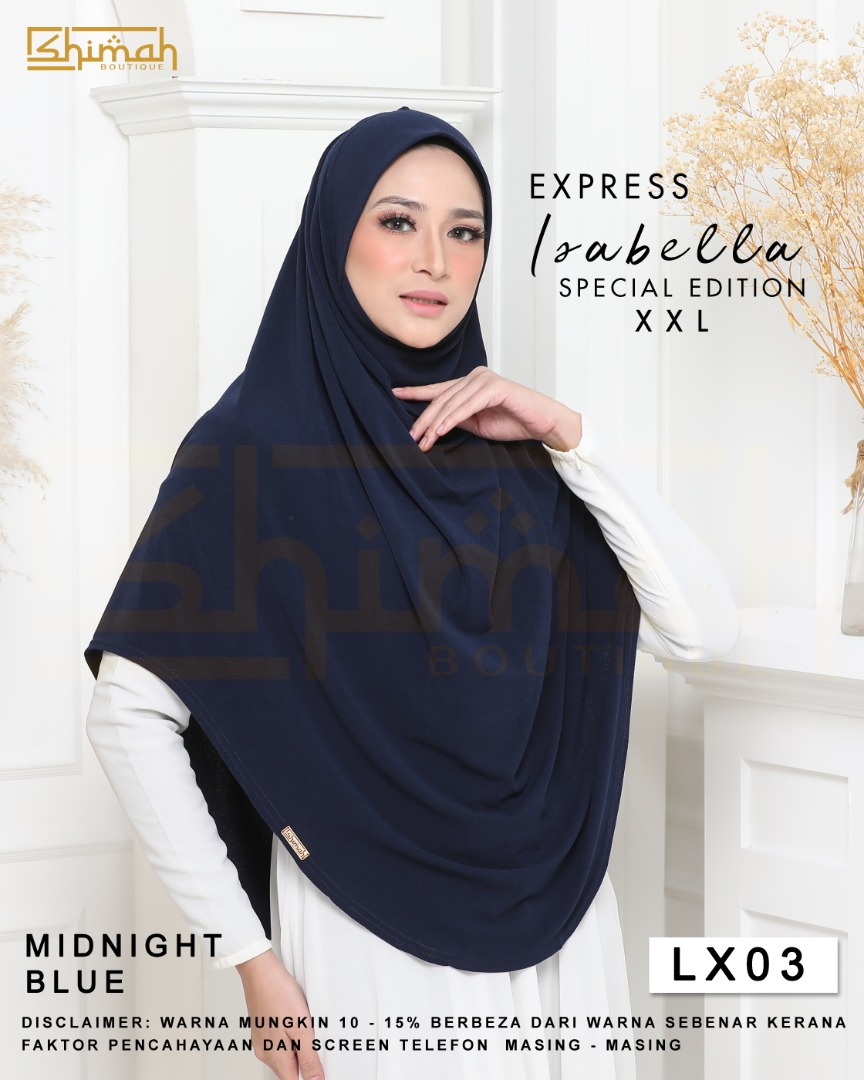 Isabella Special Edition Berdagu (Size XXL) - LX03