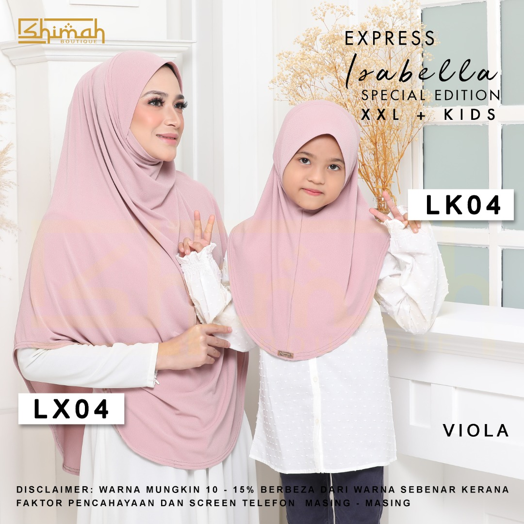 Isabella Special Edition Set - LX04