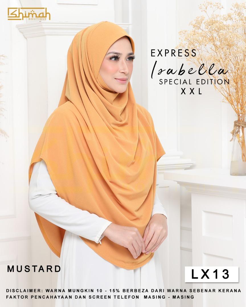 Isabella Special Edition Berdagu (Size XXL) - LX13