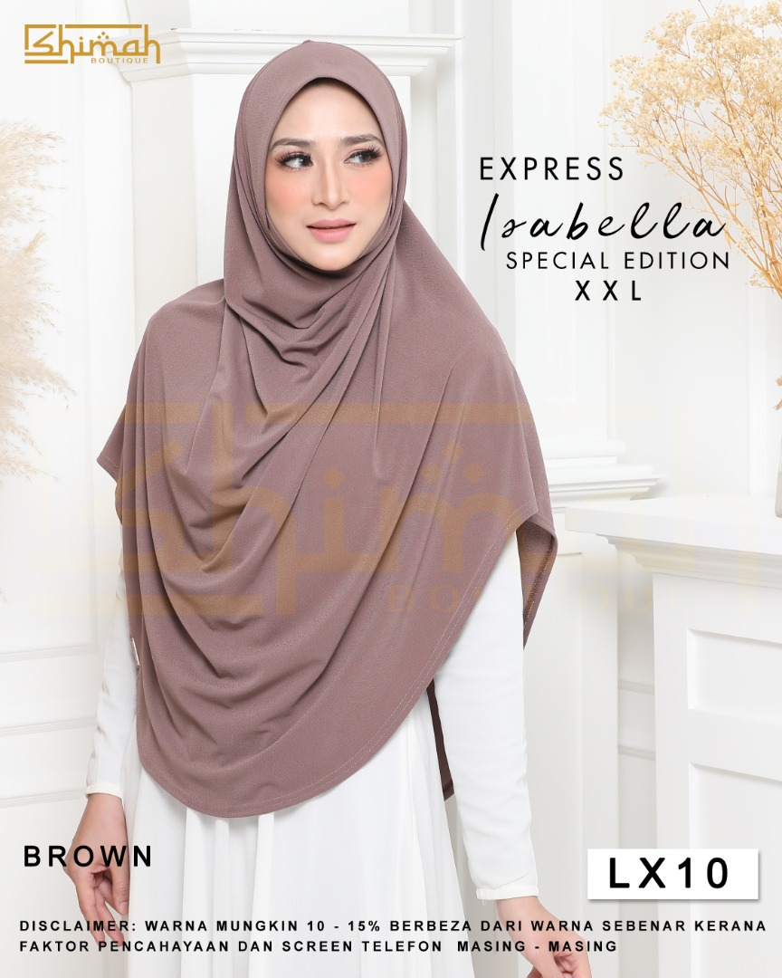 Isabella Special Edition Berdagu (Size XXL) - LX10