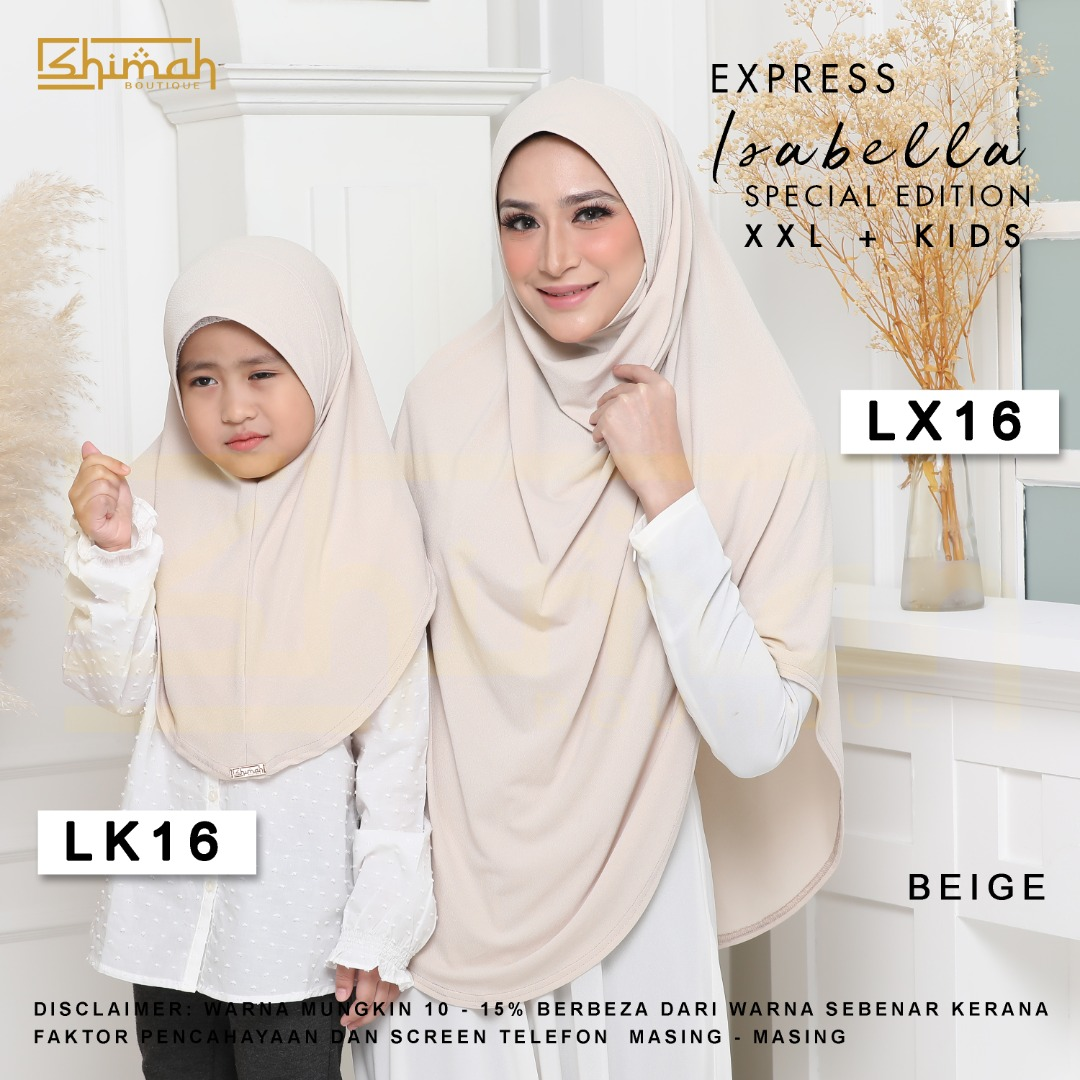 Isabella Special Edition Set - LX16