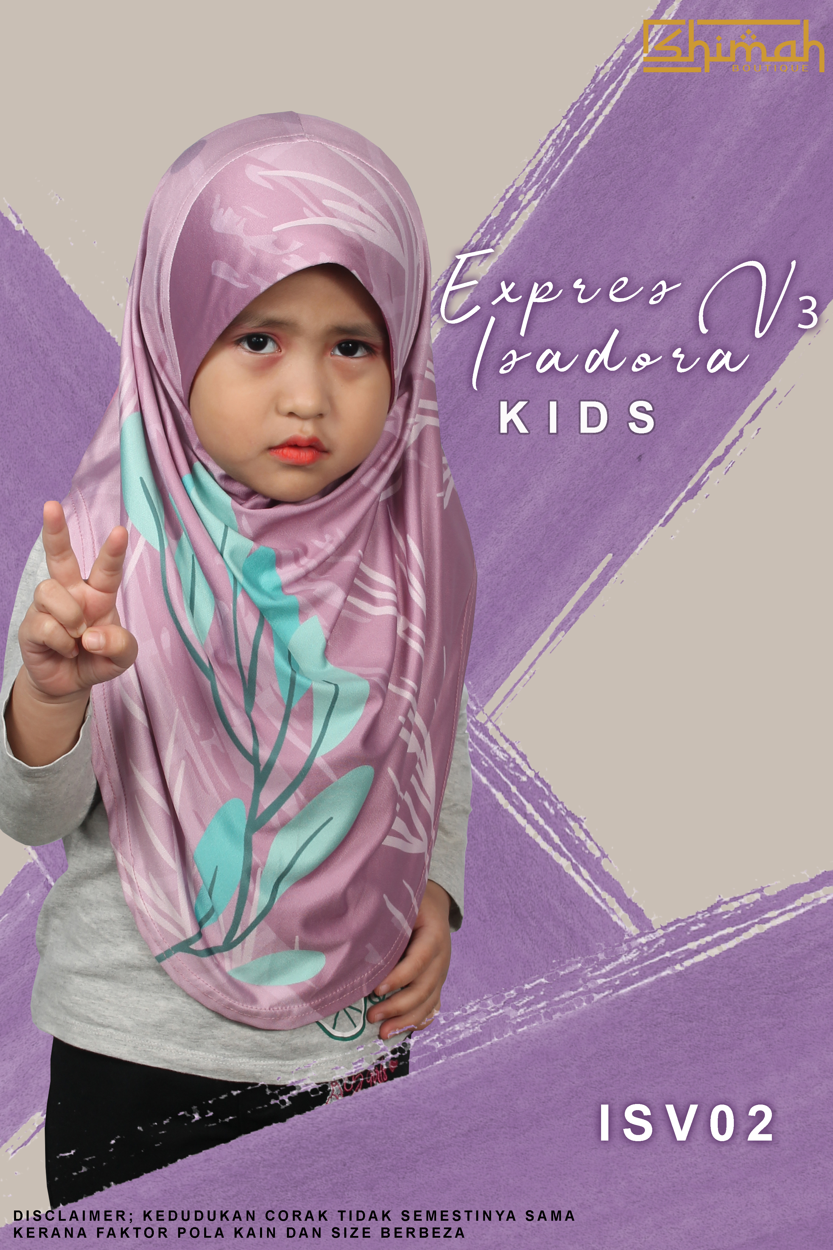 Express Isadora Kids V3 - ISKV02