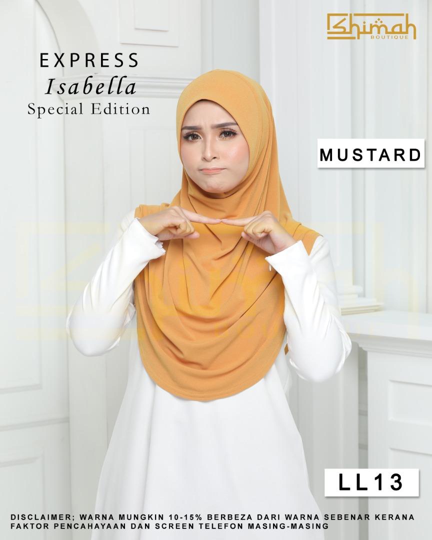 Isabella Special Edition Berdagu Size XL - LL13