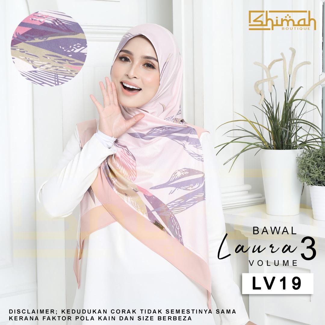 Bawal Laura Vol. 3 (LV19) Bidang 50