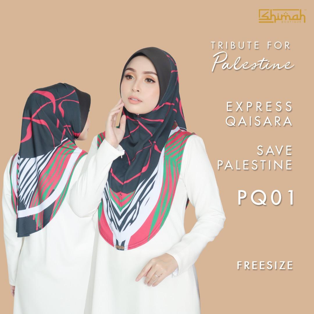 Express Qaisara Save Palestine (Freesize) - PQ01