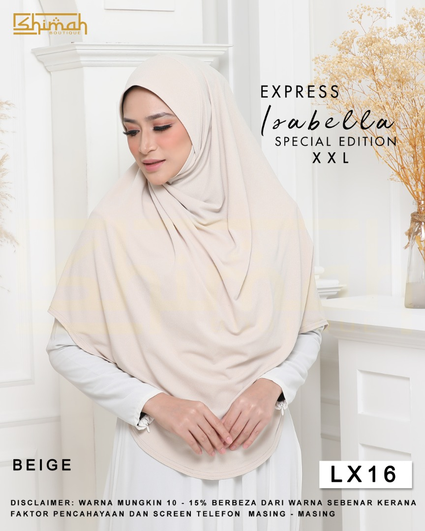 Isabella Special Edition Berdagu (Size XXL) - LX16