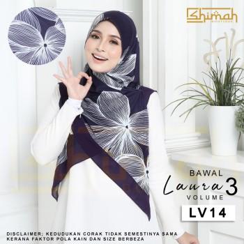 Bawal Laura Vol. 3 (LV14) Bidang 50