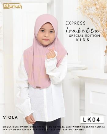 Isabella Special Edition Kids - LK04