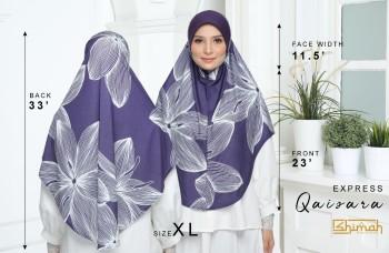 Poster Saiz untuk Express Qaisara Saiz XL