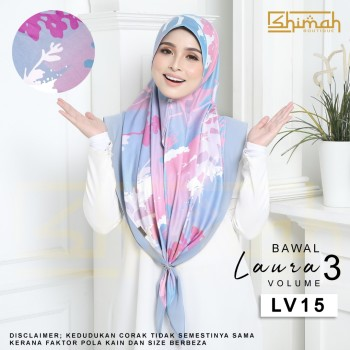 Bawal Laura Vol. 3 (LV15) Bidang 50