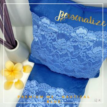 Telekung / Mukena Maxmara Silk - Nautical Blue