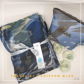 Travel Chiffon - Sky Blue - Qool Muslimah