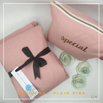 Telekung Rayon - Pink