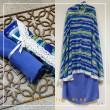 Travel Chiffon - Blue - Qool Muslimah
