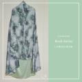 Telekung Silk Rush - Green - Qool Muslimah