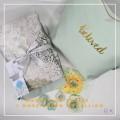 Telekung/Mukena Armani Silk Medallion Series - Moss Green - Qool Muslimah