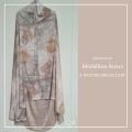 Telekung/Mukena Armani Silk Medallion Series - Nature - Qool Muslimah