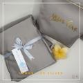 Telekung/Mukena Armani Silk - Silver - Qool Muslimah