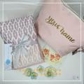 Telekung/Mukena Armani Silk - Pink Diamond - Qool Muslimah