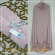Telekung Armani Silk - Medium Pink - Qool Muslimah