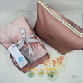 Telekung Silk Rush - Pink - Qool Muslimah