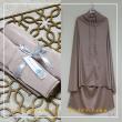 Telekung Armani Silk - Dusty Pink - Qool Muslimah