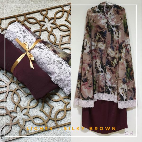 Travel Chiffon - Brown - Qool Muslimah