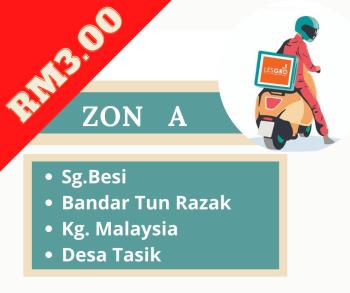 Penghantaran  ZON A