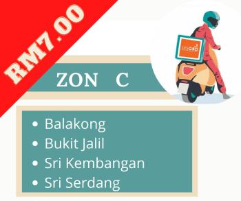 Penghantaran  ZON C