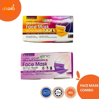 Face Mask Headloop (50pcs) - KRTB Mart
