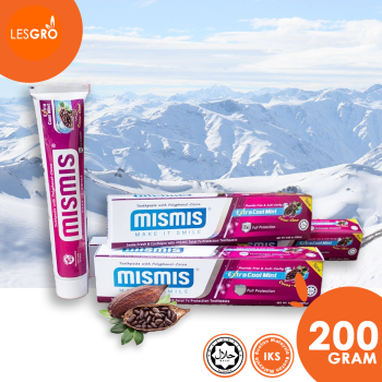 Extra Cool Mint Toothpaste (200g / 85g) - Mismis