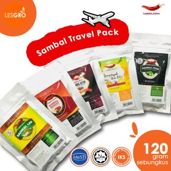 Sambal Travel Pack (120g) - Sambaleena