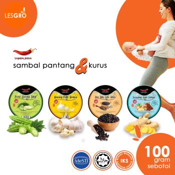 Sambal Pantang & Kurus (100g) - Sambaleena