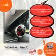 Carbon Fiber Gauge Pod Volvo S60 (100g) - BH Fiber - Lesgro