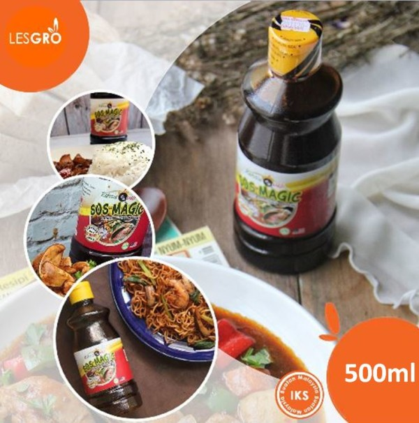 Sos Magic Pes Masakan Serbaguna Ajaib (500ml) - Rahsia Quali - Lesgro