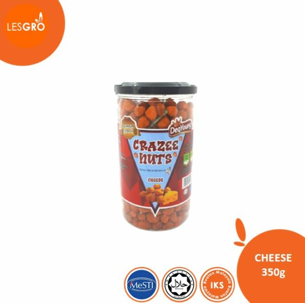 DeqYoung Crazee Nuts - Cheese - Lesgro