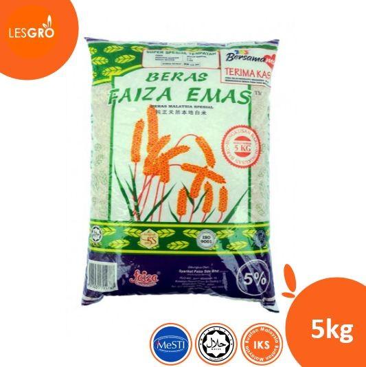 Beras Faizah - 5kg - Lesgro