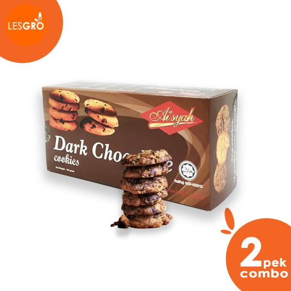 Dark Chocolate Cookies - Aishah  - Lesgro