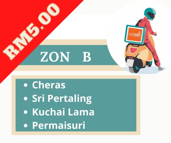Penghantaran  ZON B - Lesgro
