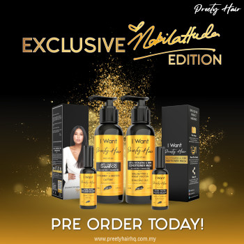 Preety Hair Kit Exclusive - Semenanjung Malaysia