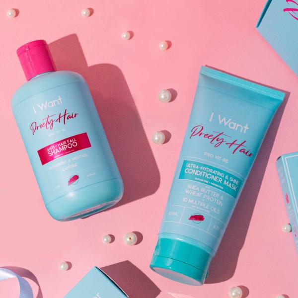 Preety Hair Healthy Hair Nourishing Kit - Singapore - Preety Enterprise