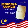 Foundation Merdeka Combo ( Single) - Young & Glow