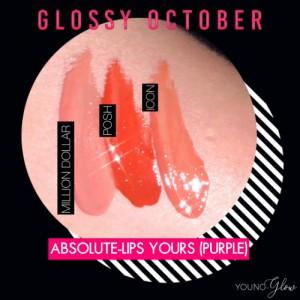 Combo Lip Gloss - Purple - Young & Glow