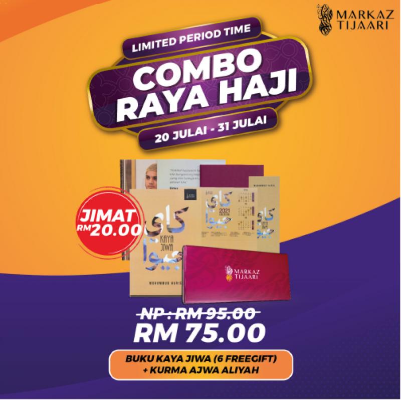 Buku Kaya Jiwa + Kurma Ajwa Aliyah Combo Raya Haji
