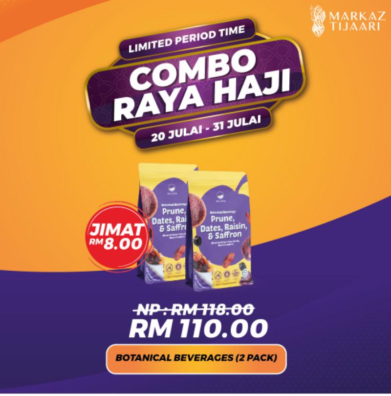 2 Pack Botanical Beverages Combo Raya Haji