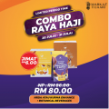 NRDA or Banana Dates + Botanical Beverages Combo Raya Haji - MARKAZ TIJAARI