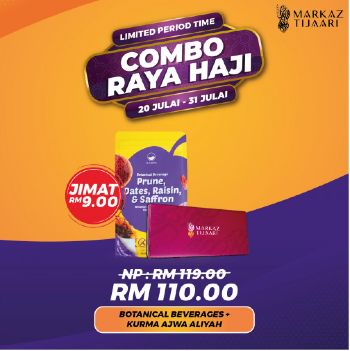 Botanical Beverages + Kurma Ajwa Aliyah Combo Raya Haji - MARKAZ TIJAARI