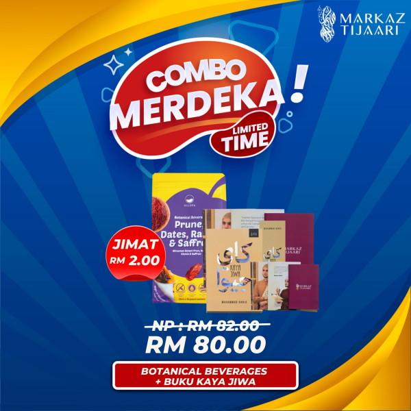 Botanical Beverages + Buku Kaya Jiwa Combo Merdeka - MARKAZ TIJAARI