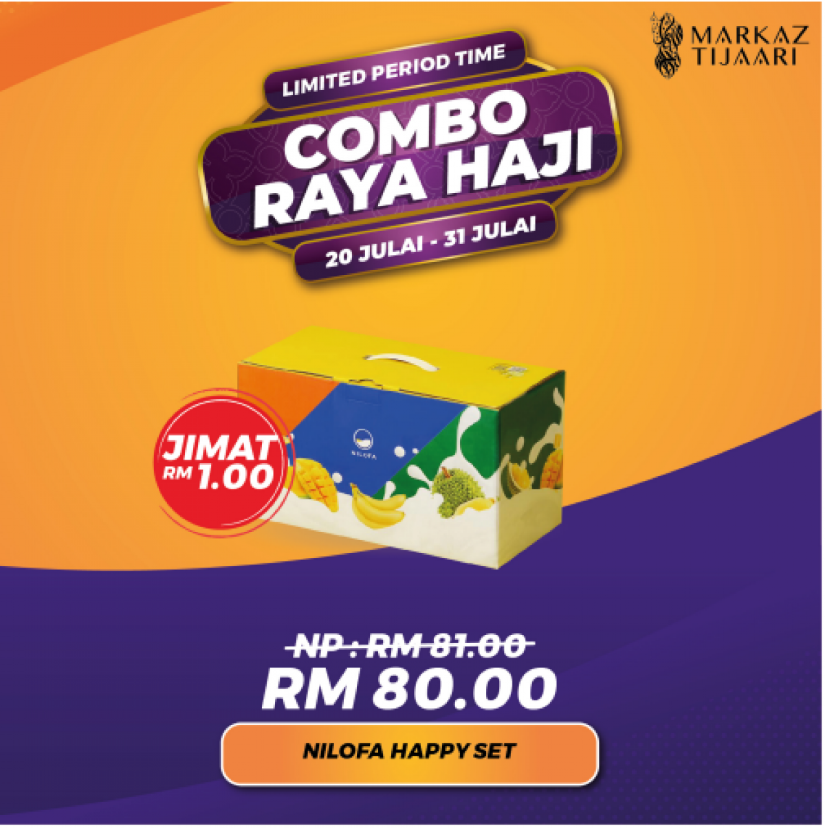 Happy Set Combo Raya Haji - MARKAZ TIJAARI
